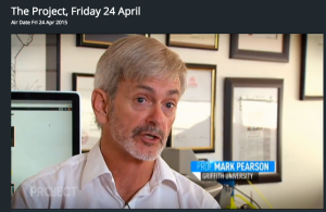 Mark Pearson (@journlaw) interviewed on The Project about defamation 24.4.15 [At 33 mins 15 secs]